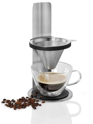 Cafetera ajustable con soporte MR. BREW