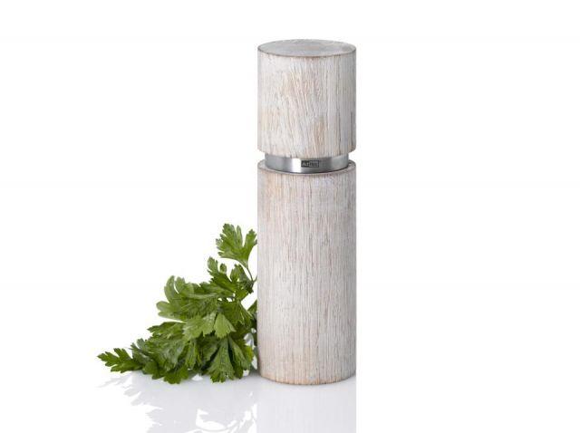 Molinillo madera cl sal - pimienta  TEXTURA 20cm