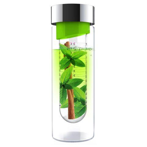 Botella inf.vidrio PURE FLAVOUR IT 480ml verde