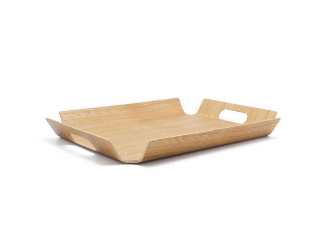 Bandeja servir madera L, rectangular