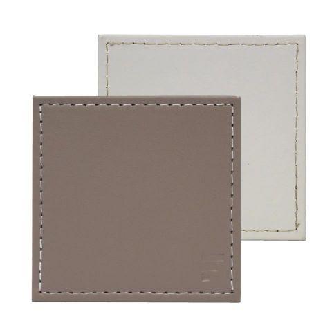Posavasos piedra-blanco 10x10cm (set 4)