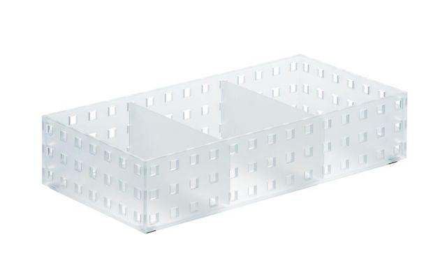 BRICKS Organizador (2 div.) mediano- 14x28x6,3cm