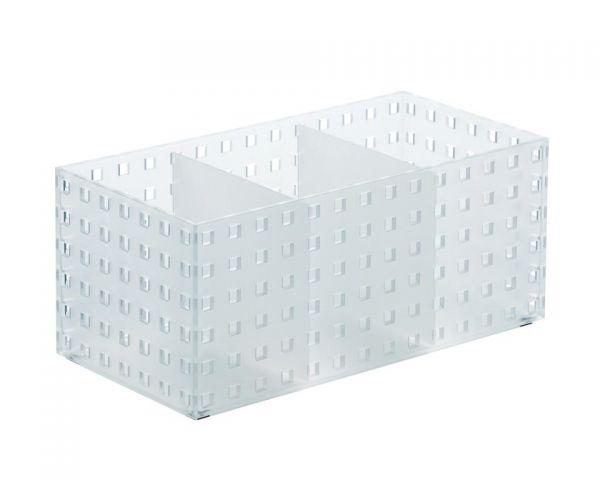 BRICKS Organizador (2 div.) mediano- 14x28x12,5cm