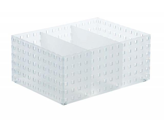 BRICKS Organizador (2 div.) alto- 21x28x12,50cm