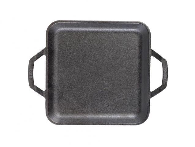 Plancha lisa cuadrada- 28cm Chef Collection