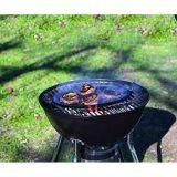 Bandeja grill- ovalada cocina-mesa 34x25cm
