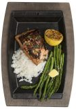 Bandeja grill rectangular cocina-mesa 30x20cm