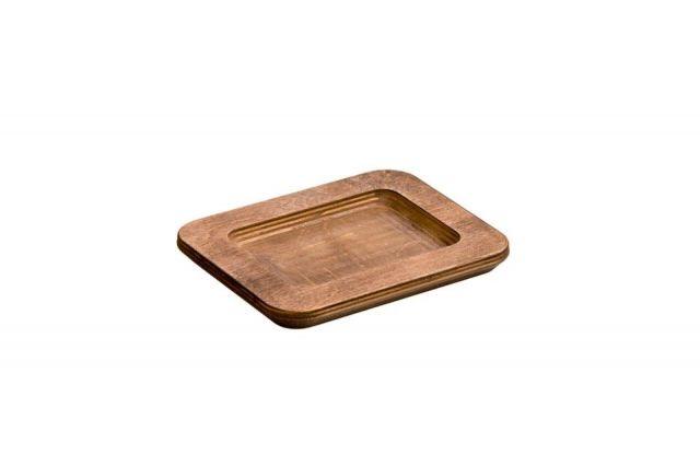 Protector rectangular mesa- nogal 19x15cm