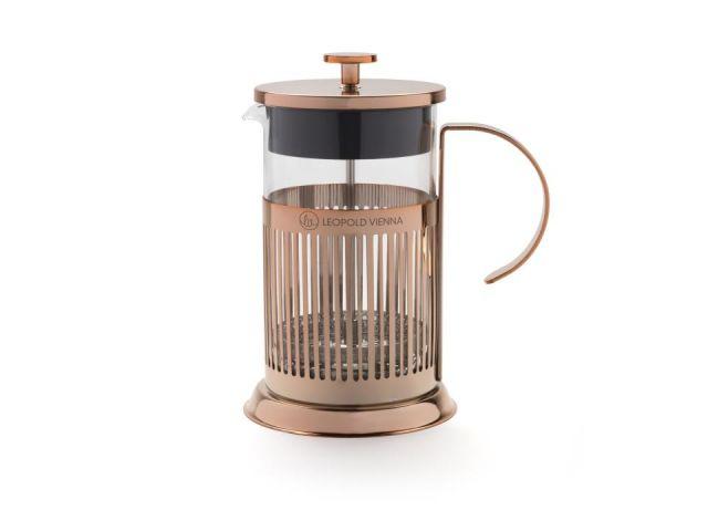 Cafetera émbolo 800 ml- cobre