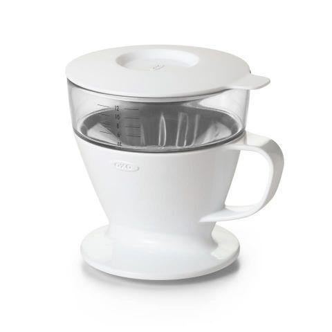 Cafetera vertedora con filtro+depósito agua