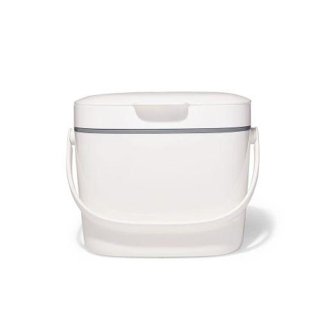 Cubo de basura m.organica- blanco 6.6L