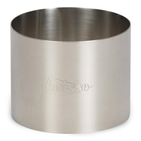 Anillo acero inox. h. 5,5 cm. 5 cm