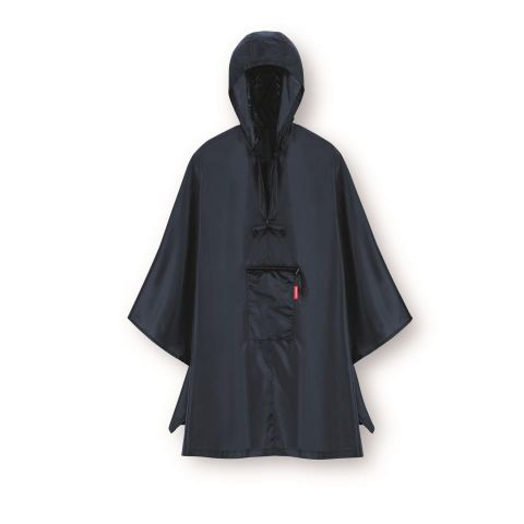 Poncho mini maxi dark blue
