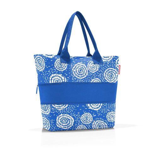 Bolsa compra extensible e1 batik strong blue