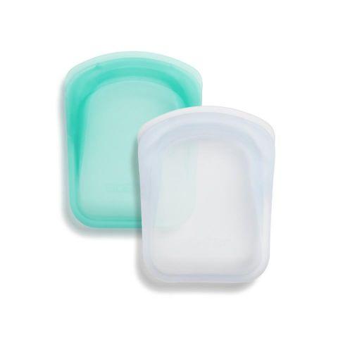 Bolsa de bolsillo (pack 2- clear/aqua)