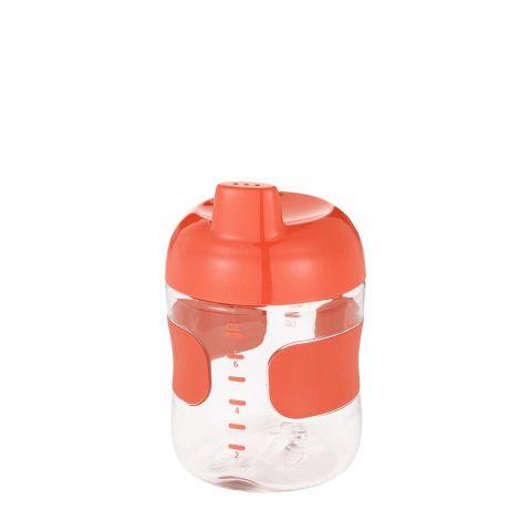 Botellín sorbos  c/válvula antig. (200 ml.)- naran