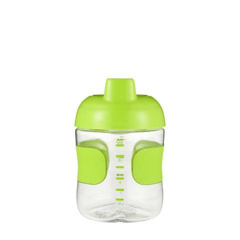 Botellín sorbos  c/válvula antig. (200 ml.)-verde
