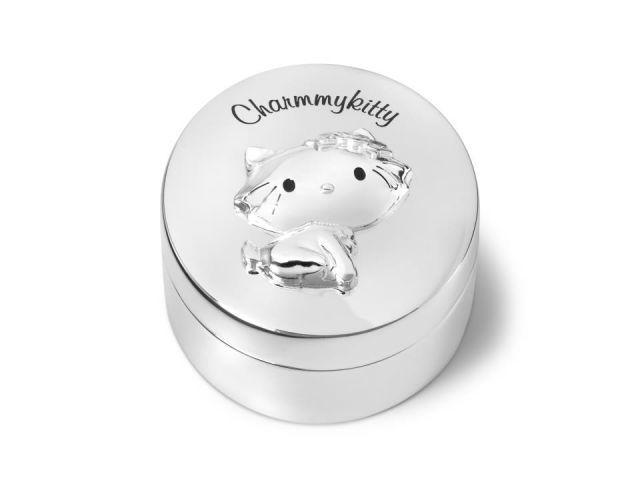 Cajita plateada primer diente CHARMMY KITTY