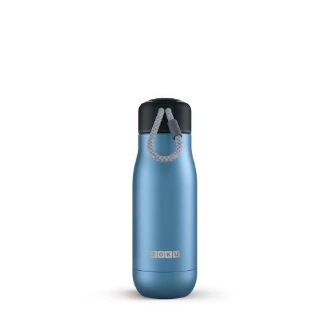 Botella ZOKU colección Inox. 350ml-azul oscuro